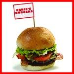 Double cheeseburger with bacon