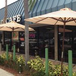 Enjoy our patio dining area.