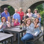 Our fantastic, inter-generational knitting group