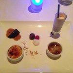 Dessert-Chef's tasting menu