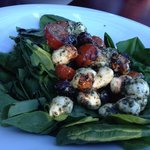 Spinach Salad at Timber Room