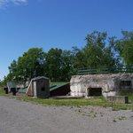 La structure principale du Fort, la Casemate