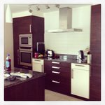Open plan kitchen diner and lounge