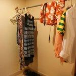 Our walk-in closet