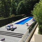 piscine : pas très grande mais agréable
