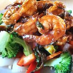 Spicy Sweet & Sour King Prawn ^_^