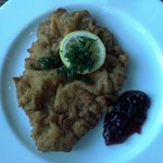 Weiner Schnitzel (breaded veal cutlet) was perfect and loved being paired with German beer