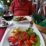 Steak tartar and pork Gypsy style
