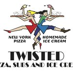 Twisted Pizza Logo