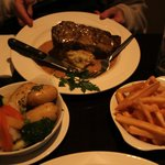 10 ounce sirloin steak