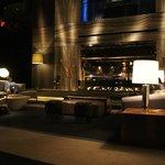 La lobby.