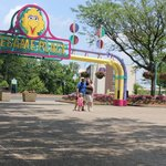 Sesame Place is so close to the hotel!