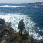 big blue sea in mala