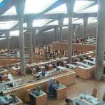 A bird's eye view of the library