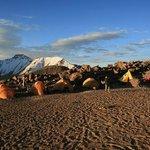Campamento Base del Chachani nuestro equipo de logistica