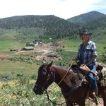 Ride to Rock Creek - Black Mountain Ranch in background