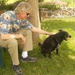 Dan & Dahlia, the Winery Dog