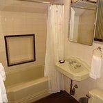 The antique private bath