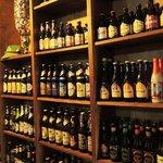 Cervejas expostas