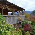 Lakeside Lodge porch