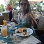 El fantástico desayuno del The Palms Hotel