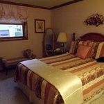 The beautiful bedroom