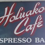 Holuakoa Café sign