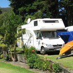 Rated at 89% on Rankers and 80% on AA - classic NZ camping