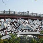 Seonim bridge with its nymphs