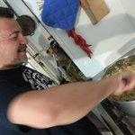 ospite li chef stellato Rocco che ha deliziato gli ospiti con i suoi piatti