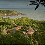 view of om beach from swaswara