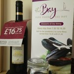 Room service and wine in your room (fee)