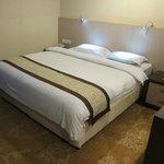 fine sheets & quilt - Hermes Palace Hotel Medan