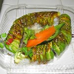 To go caterpillar rolls.  Awesomely great!