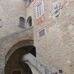 accademia etrusca - cortile interno