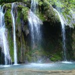 Nearby Cascades des Tufs water falls