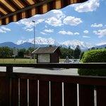 Auberge de l'orangerie - Vue sur le Mt Blanc