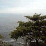 Vista praia do Vidigal