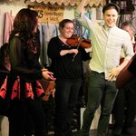 Olly Murs gets a few lessons