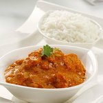 Chicken Jalfrezy with Steamed Rice