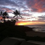 Sunset on Wailea