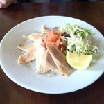 Smoked salmon and trout- delicious