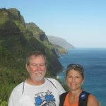 Hiking the Kalalau Trail on Na Pali coastline