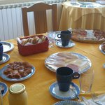 Desayuno bufet