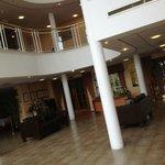 Very nice reception area