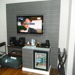 Mini-bar, tv etc. Superior room.