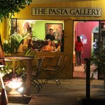 The Pasta Gallery, Tobago, Patio