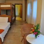 Children's bedroom for the family room for 5, HVM Cirali