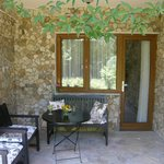 Terrace of one of the family rooms, HVM Cirali