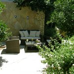 Sitting area at the garden, HVM cirali